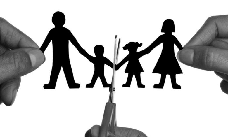 الطلاق بين السوريين