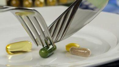 المكملات الغذائية علاج