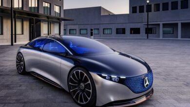 سيارة EQS الكهربائية الجديدة من مرسيدس