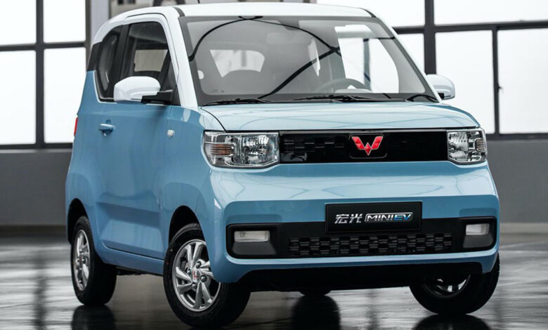 Hong Guang Mini EV، سيارة صغيرة تحقق أعلى المبيعات عالمياً.